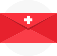 Swiss envelope icon