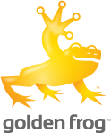 Logo Golden Frog
