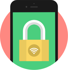 When browsing the Internet on a mobile phone, use a mobile VPN to stay secure and anonymous.