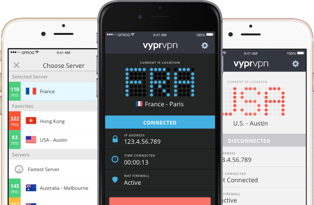 With a VPN, easily secure your personal information and data while using your iPhone device.