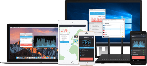 VyprVPN ofrece apps elegantes de última generación para Windows, Mac, Android, e iOS.
