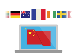 Select VyprVPN server locations from over 40 countries.