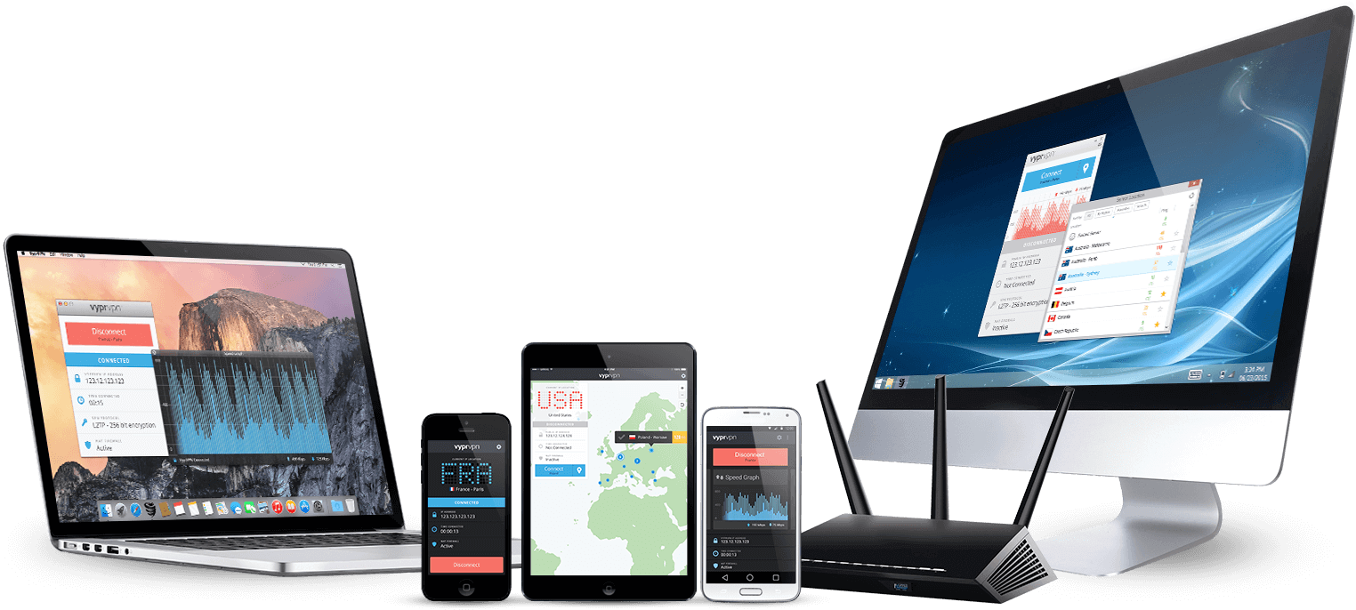 VyprVPN offers easy-to-use apps for all devices.